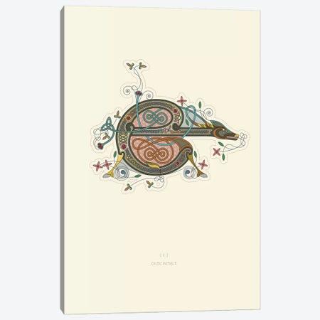 E Celtic Initial Canvas Print #TAD105} by Thoth Adan Canvas Art Print