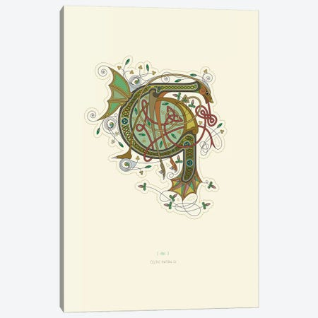 G Celtic Initial Canvas Print #TAD107} by Thoth Adan Canvas Art Print