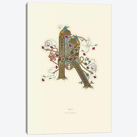K Celtic Initial Canvas Print #TAD111} by Thoth Adan Canvas Art Print