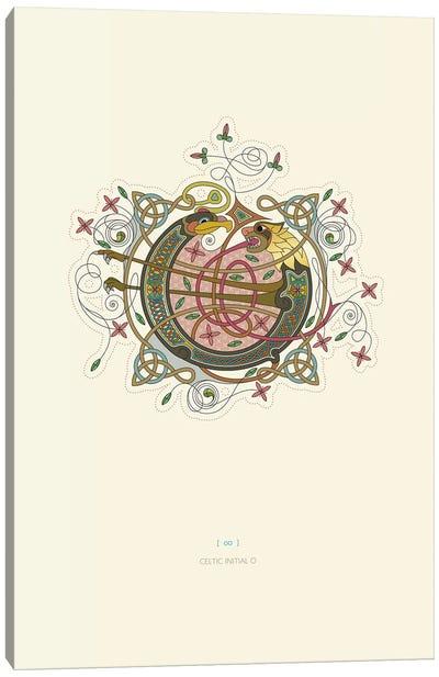 O Celtic Initial Canvas Art Print