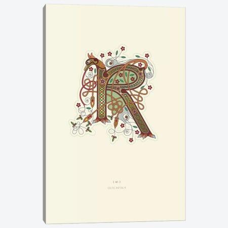 R Celtic Initial Canvas Print #TAD118} by Thoth Adan Art Print