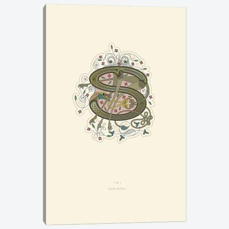 S Celtic Initial Canvas Print #TAD119} by Thoth Adan Canvas Art Print