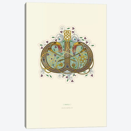 W Celtic Initial Canvas Print #TAD123} by Thoth Adan Canvas Artwork