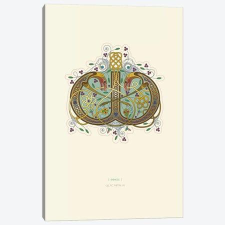 W Celtic Initial Canvas Print #TAD123} by Thoth Adan Canvas Artwork