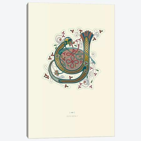 Y Celtic Initial Canvas Print #TAD125} by Thoth Adan Canvas Print