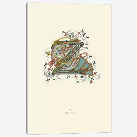 Z Celtic Initial Canvas Print #TAD126} by Thoth Adan Canvas Art Print