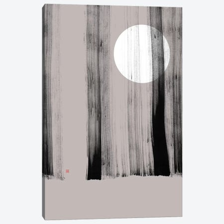 Hidden Moon I (Behind The Trees) Canvas Print #TAD140} by Thoth Adan Canvas Art