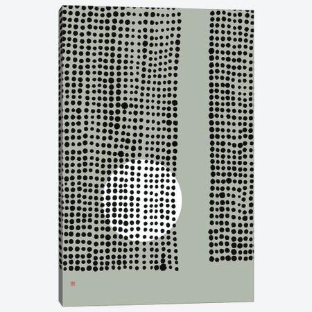Hidden Moon N° 4 (Behind The Curtains) Canvas Print #TAD142} by Thoth Adan Canvas Art