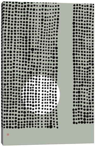 Hidden Moon N° 4 (Behind The Curtains) Canvas Art Print
