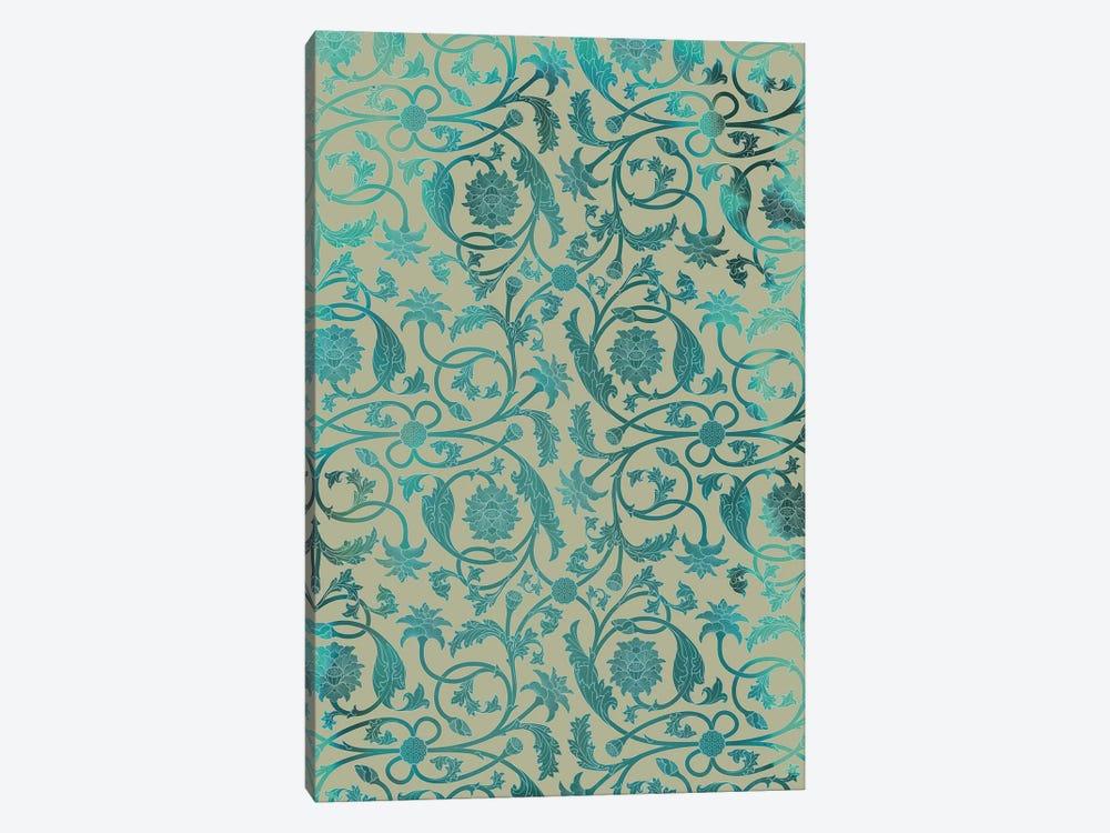 Blue Indian Lotus by Thoth Adan 1-piece Art Print