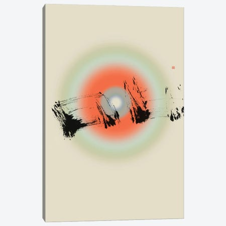 Pause (Étude Circulaire N° 4) Canvas Print #TAD171} by Thoth Adan Art Print