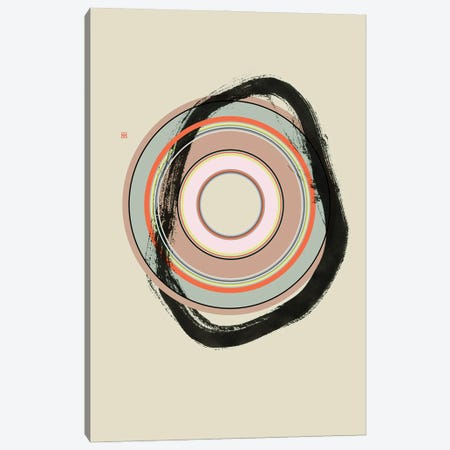Weigh In (Étude Circulaire N° 10) Canvas Print #TAD177} by Thoth Adan Canvas Artwork