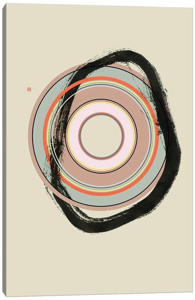 Weigh In (Étude Circulaire N° 10) Canvas Art Print