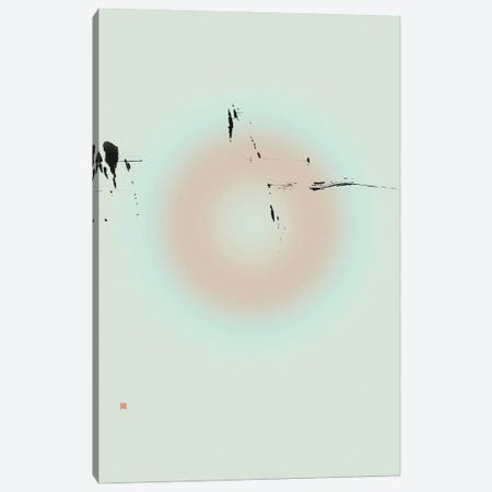 Vanish Into Thin Air (Étude Circulaire N° 15) Canvas Print #TAD182} by Thoth Adan Canvas Art