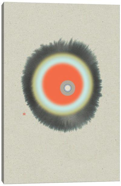 Nucleus (Étude Circulaire N° 21) Canvas Art Print
