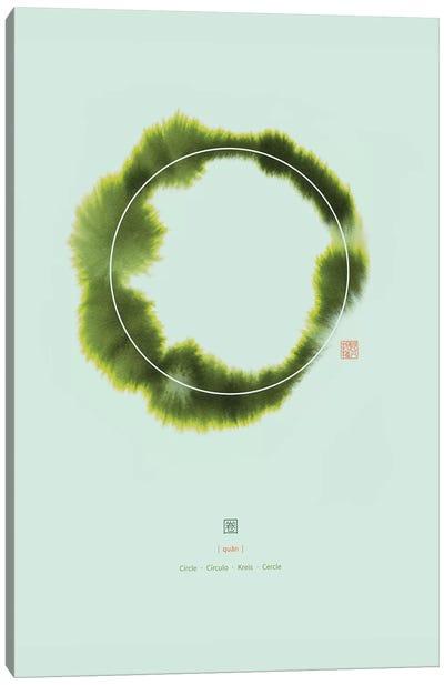 Circle I Canvas Art Print