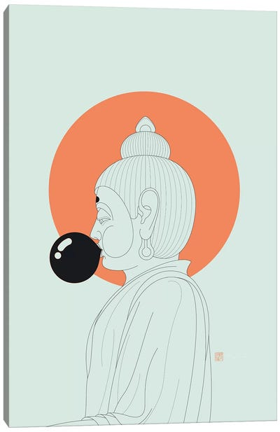 Concentrate On The Void! Canvas Art Print