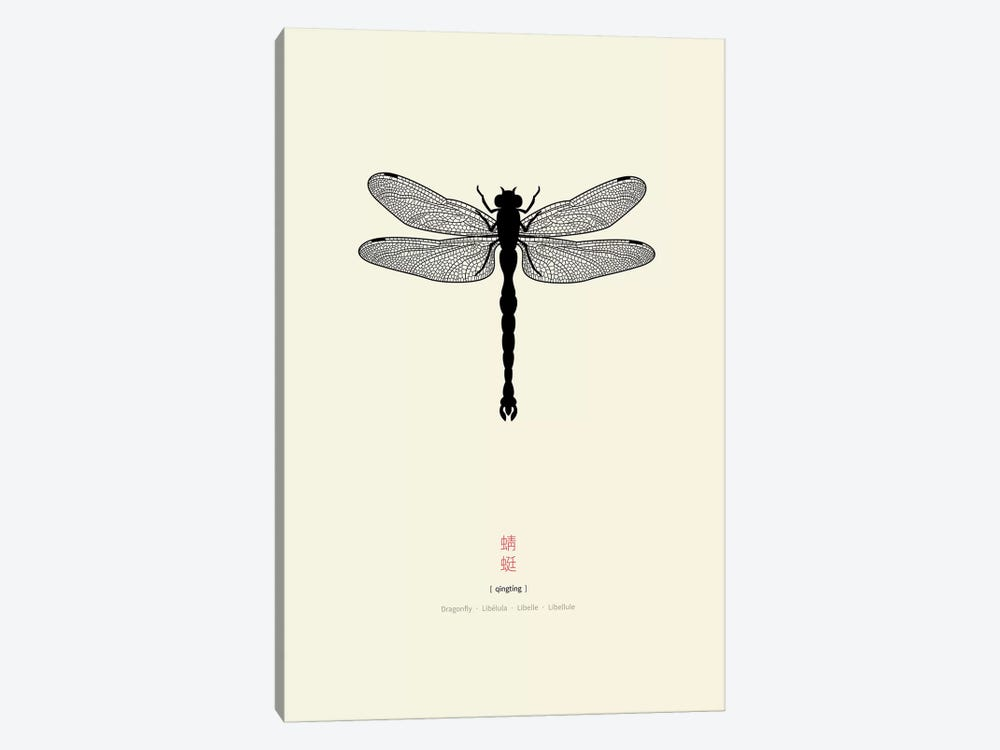 Dragonfly 1-piece Canvas Print