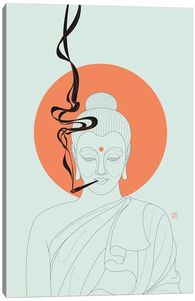 Give Peace A Chance! Canvas Art Print