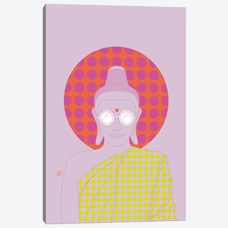 Imagine Silence! (Pop Art Version) Canvas Print #TAD63} by Thoth Adan Canvas Artwork