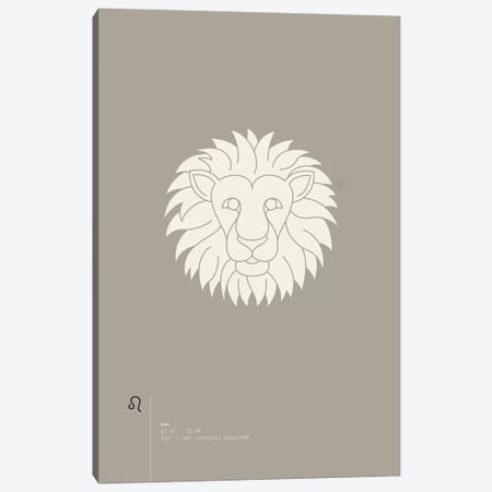Leo Canvas Print #TAD65} by Thoth Adan Canvas Print