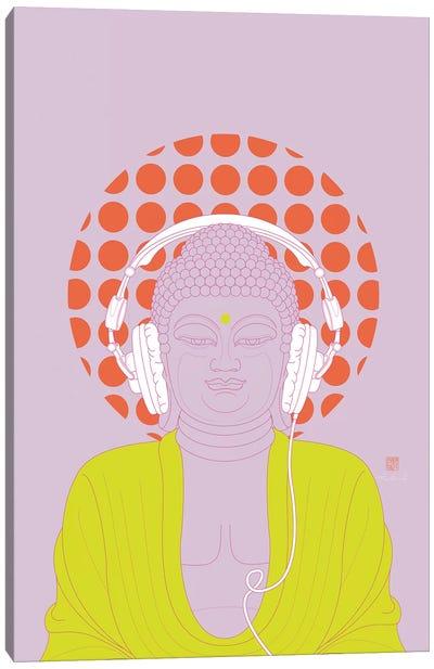 Listen To Om! (Pop Art Version) Canvas Art Print