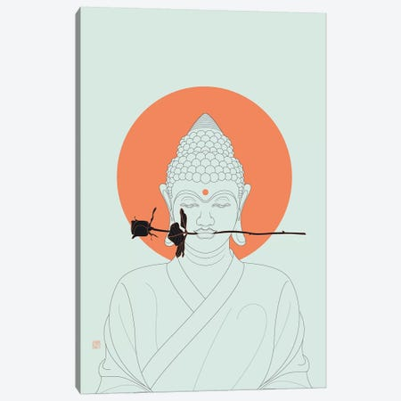 Make Love! Canvas Print #TAD69} by Thoth Adan Canvas Art