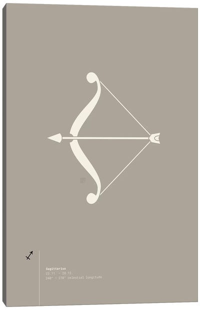 Sagittarius Canvas Art Print