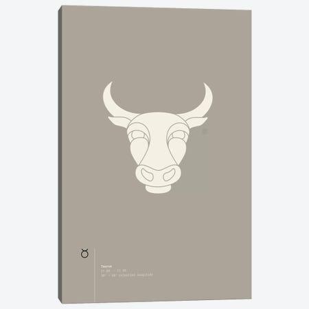Taurus Canvas Print #TAD92} by Thoth Adan Art Print