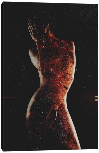 Astronomy VI Canvas Art Print