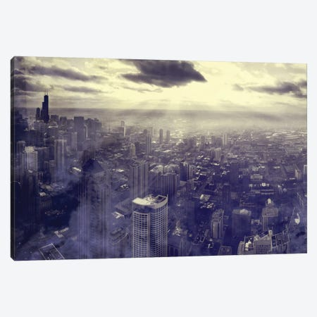 Chicago Canvas Print #TAL23} by Taylor Allen Canvas Art