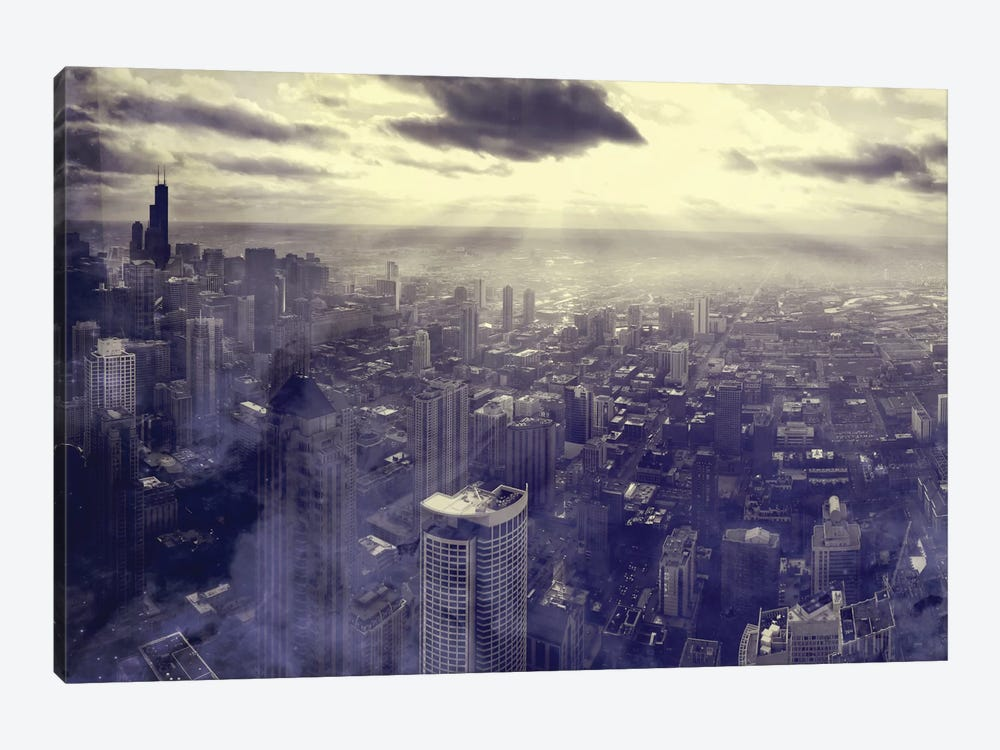 Chicago by Taylor Allen 1-piece Canvas Art Print