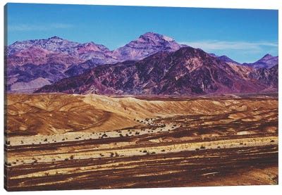 Death Valley Canvas Art Print