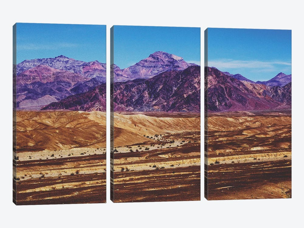 Death Valley 3-piece Canvas Wall Art