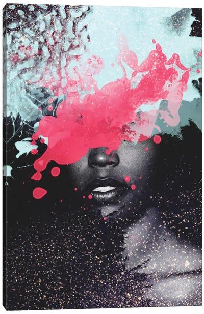 Ink Blot Canvas Art Print
