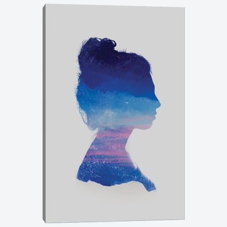 Silhouette II Canvas Print #TAL40} by Taylor Allen Canvas Art