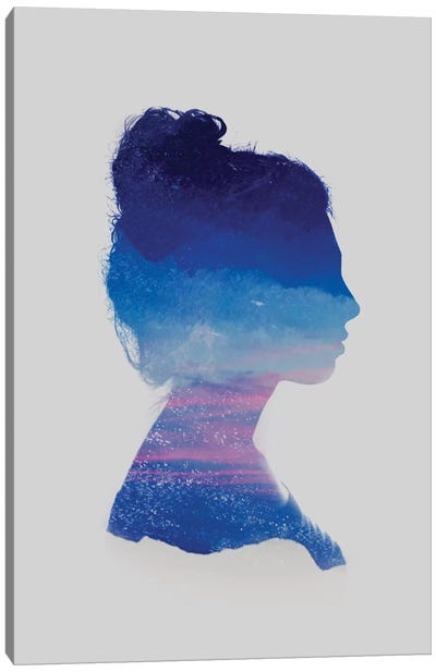 Silhouette II Canvas Art Print