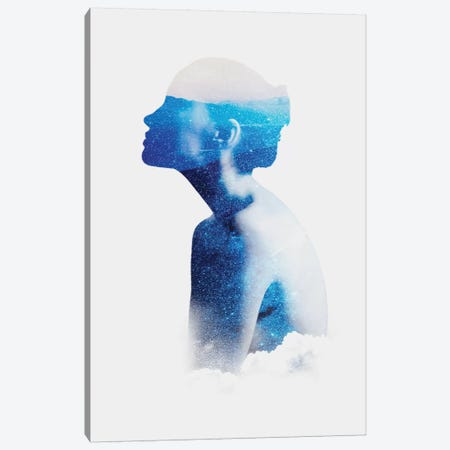 Silhouette X Canvas Print #TAL47} by Taylor Allen Canvas Art Print