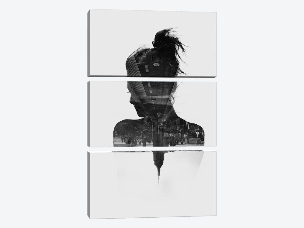 Silhouette XI by Taylor Allen 3-piece Canvas Wall Art