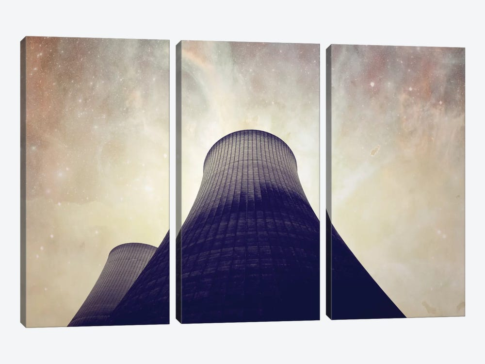 Astronautography II by Taylor Allen 3-piece Canvas Art