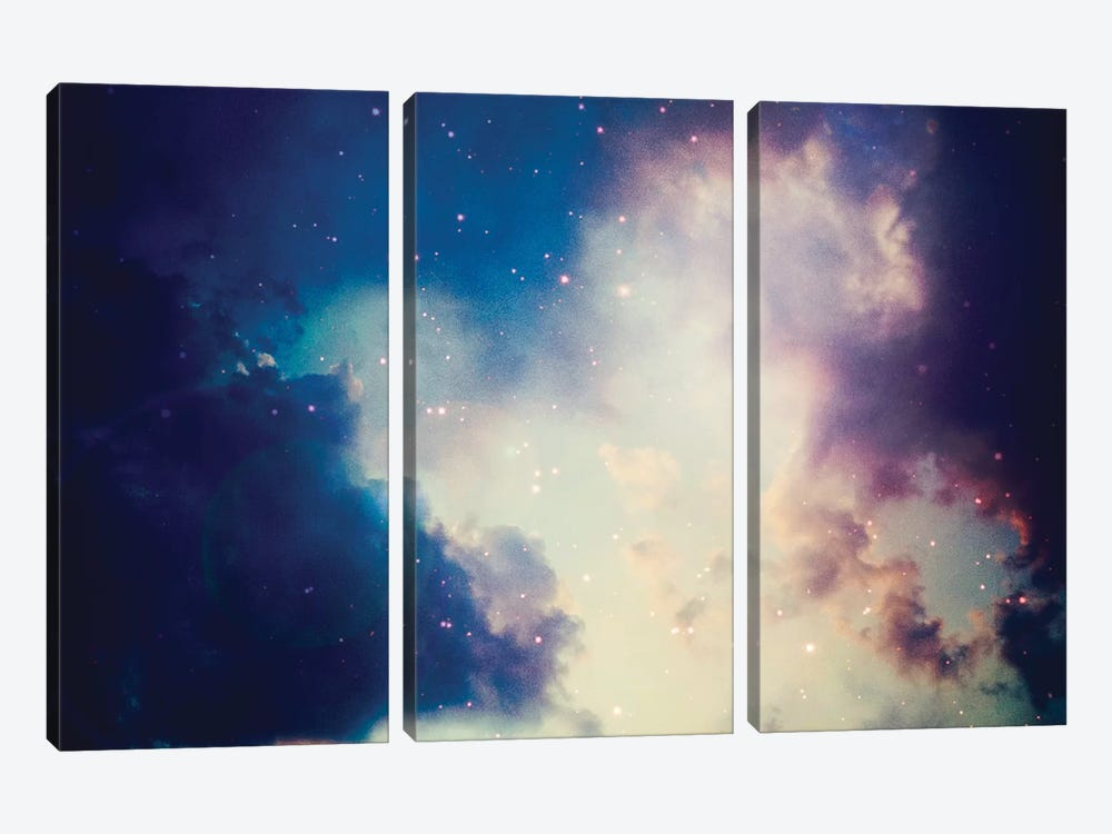 Astronautography IV by Taylor Allen 3-piece Canvas Art