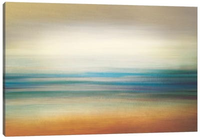La Playa Canvas Art Print