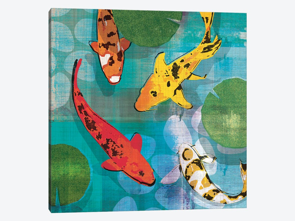 Lucky Koi I by Tandi Venter 1-piece Canvas Print