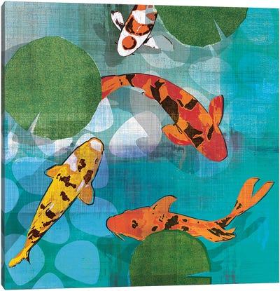 Lucky Koi II Canvas Art Print