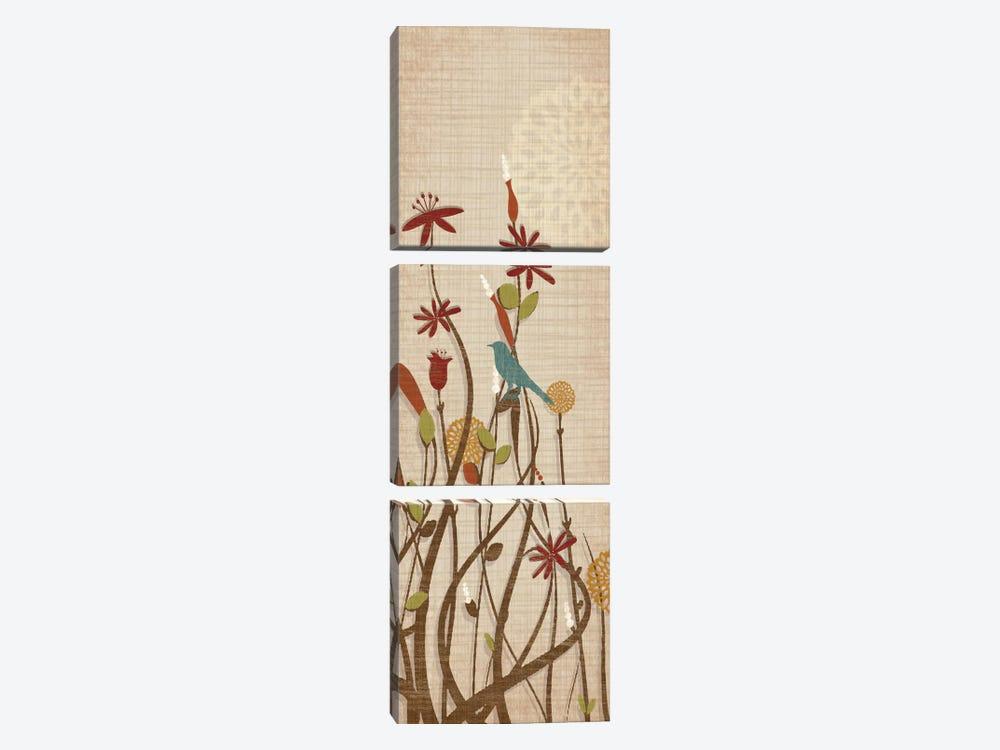 Meadow Fairgrounds II by Tandi Venter 3-piece Canvas Art Print