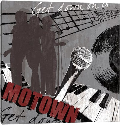 Motown Canvas Print #TAN125