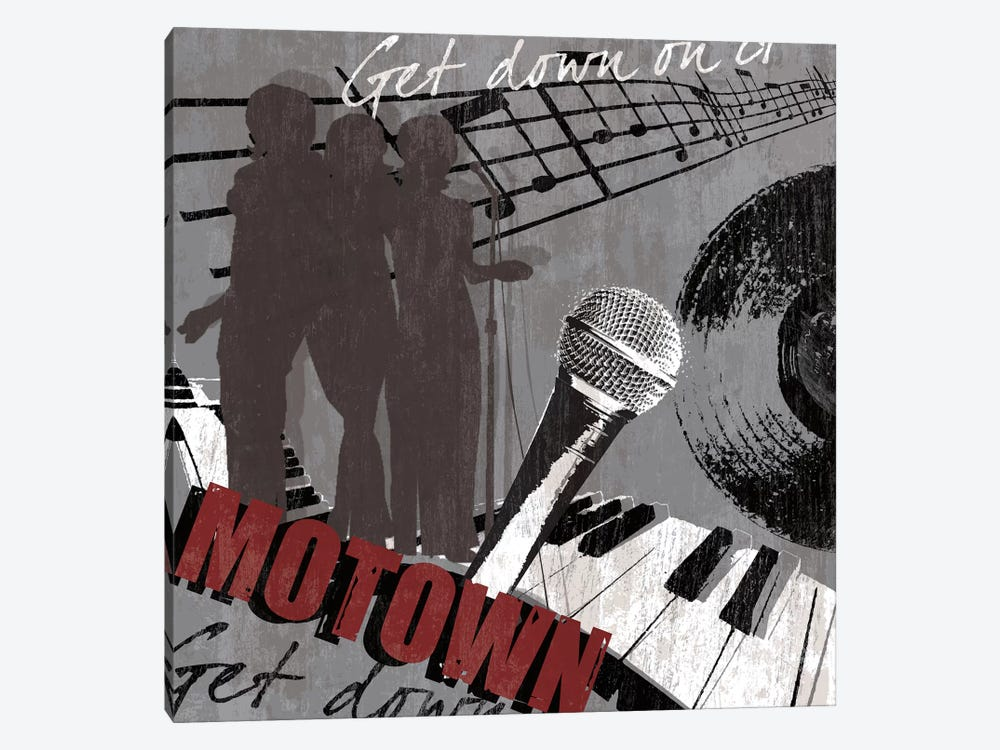 Motown by Tandi Venter 1-piece Canvas Art