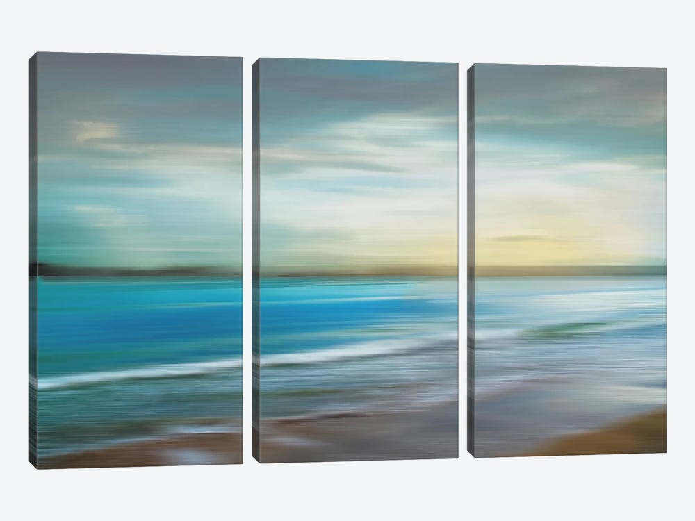 Ocean Plains by Tandi Venter 3-piece Canvas Wall Art