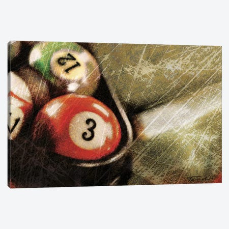 Opening Break Shot Canvas Print #TAN139} by Tandi Venter Art Print