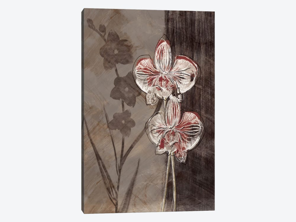 Orchid Sketch I 1-piece Canvas Print
